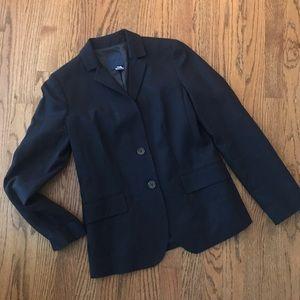 J Crew Navy Blue Professional Work Jacket Blazer 4
